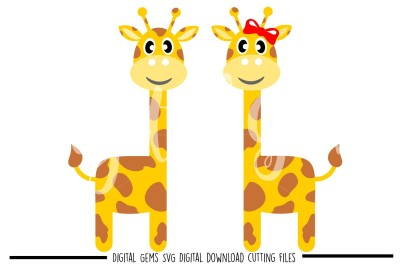 Giraffe SVG / DXF / EPS / PNG Files
