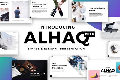 Alhaq - Elegant Powerpoint