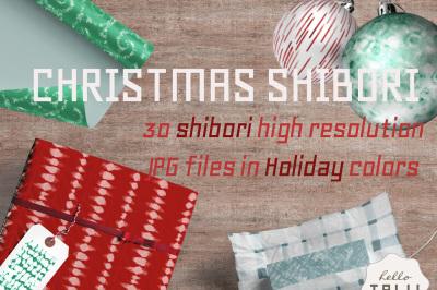 CHRISTMAS SHIBORI