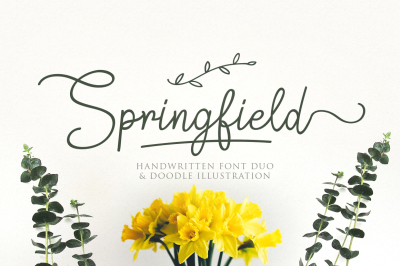 Springfield | Fontduo+Extras
