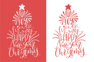 Christmas tree. Cutting file. SVG,DXF,PNG,EPS files.