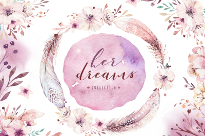 Her dreams. Bohemian collection