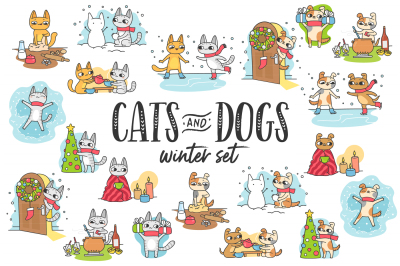 Cats&Dogs Winter Set