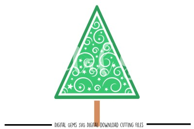 Christmas tree SVG / DXF / EPS / PNG Files