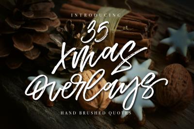 35 Christmas Overlays