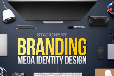 Stationery Mega Branding Identity Bundle