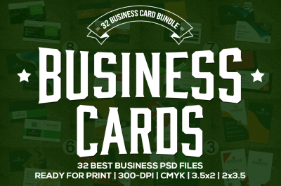 32 Elegant Business Card Templates