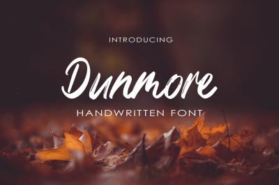 Dunmore Script-Font