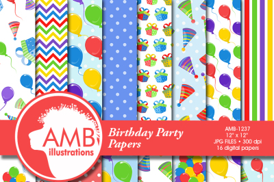 Birthday patterns and papers AMB-1237