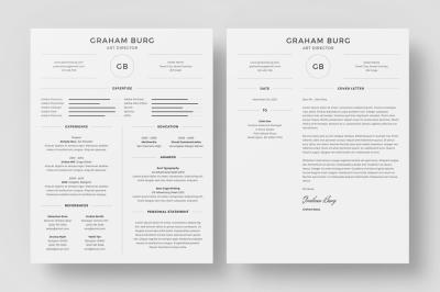 Resume/CV - Graham Burg