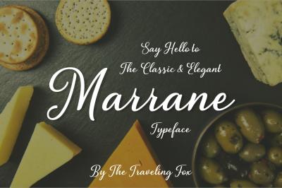 Marrana - A Modern Script