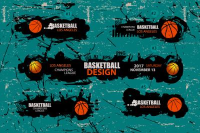 Designs for basketball