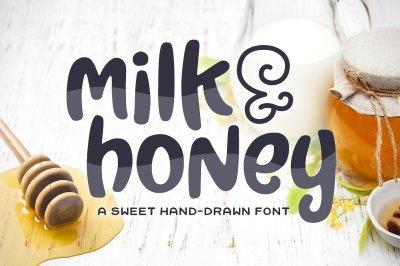 Milk & Honey Font