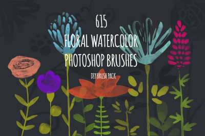 615 PS Watercolor Brushes