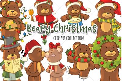 Bear Themed Christmas Collection