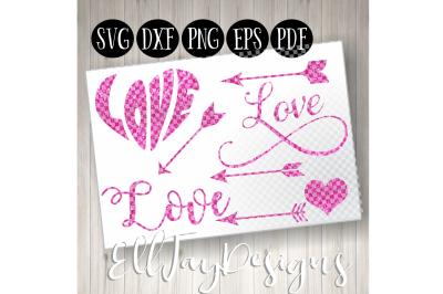 8 Pink Valentines Day Bundle