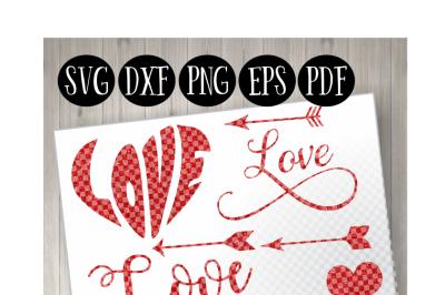 8 Red Valentines Day Designs