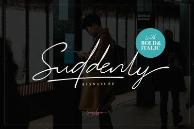 Suddenly - Signature Script