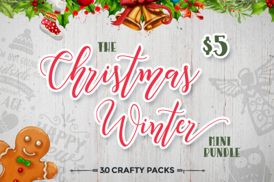 The Christmas Winter Mini Craft Bundle