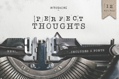 Perfect Thoughts Font