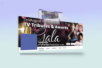 Award Ceremony FaceBook Cover Template