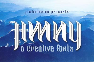 jimny - Creative Style Font