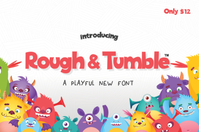 Rough & Tumble Font