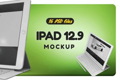 iPad 12.9 Vol.1 Mockup