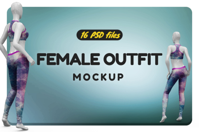 Female Outfit Vol.4 Mockup