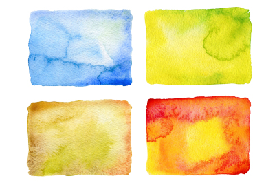 Abstract watercolor painted backgrounds. 1 big jpg file (5577?×?4263px)