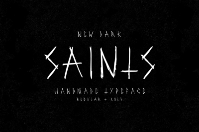 Saints Typeface