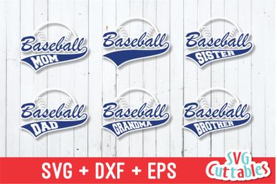 Baseball svg, Baseball family svg
