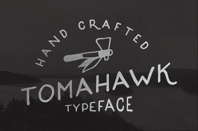 Tomahawk - Vintage Font