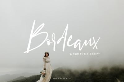 Bordeaux   A Romantic Script