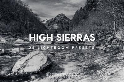 High Sierras Lightroom Presets