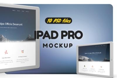 iPad 12.9 Pro Vol.1 Mockup
