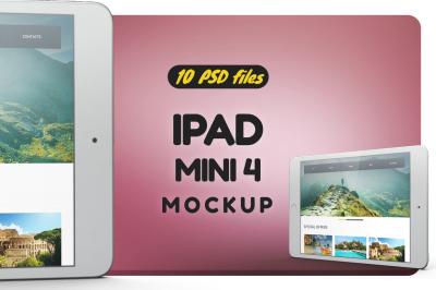iPad Mini 4 Mockup Vol.3