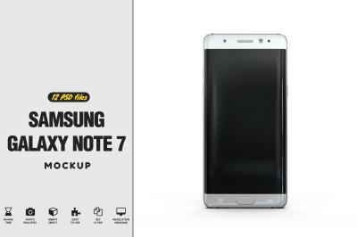 Samsung Galaxy Note 7 Mockup