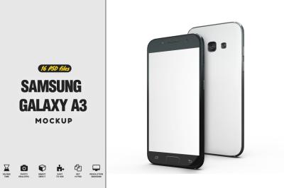 Samsung Galaxy S3 Mockup