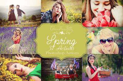 Spring Actions for Photoshop