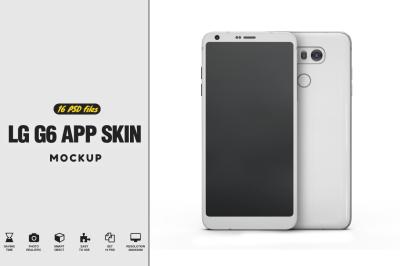 LG G6 Mockup