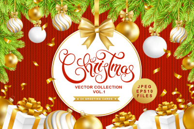 Christmas vector collection vol.1