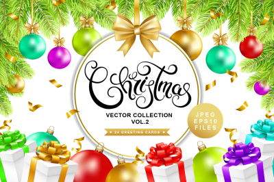 Christmas vector collection vol.2