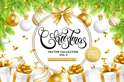 Christmas vector collection vol.3