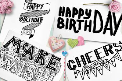 Happy BIRTHDAY | Lettering