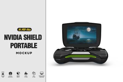 Nvidia Shield Portable Vol.1 Mockup