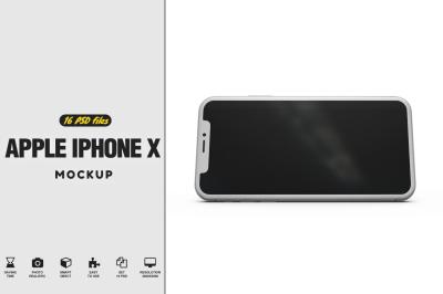 iPhone X Vol.3 Mockup