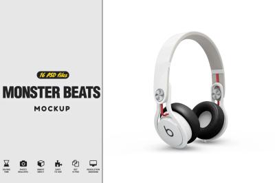 Headphones Mockup