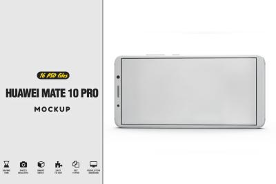 Huawei Mate 10 Pro Mockup