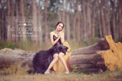 Be Inspired Actions for Photoshop